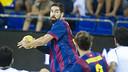 Karabatic led Barça's scoring in Benidorm / PHOTO: ARXIU FCB