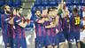 Les dades dels blaugranes a la primera part de la temporada. / FOTO:ARXIU-FCB