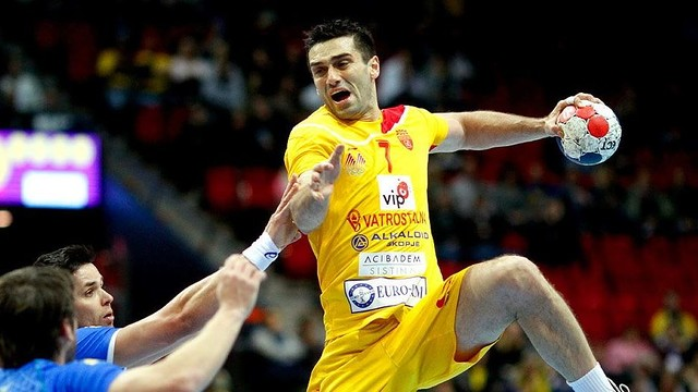 Kiril Lazarov, autor de 13 gols amb Macedònia. / FOTO:IHF