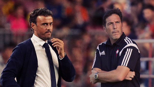Luis Enrique and Eduardo Berizzo are two of the youngest managers in La Liga