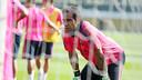 Claudio Bravo during the training session / MIGUEL RUIZ-FCB
