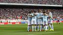 El Celta va treure un empat del Vicente Calderón / FOTO: LFP - CELTA DE VIGO