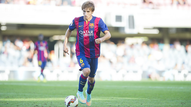 Sergi Samper was considered the most promising young Catalan talent / PHOTO: VÍCTOR SALGADO - FCB