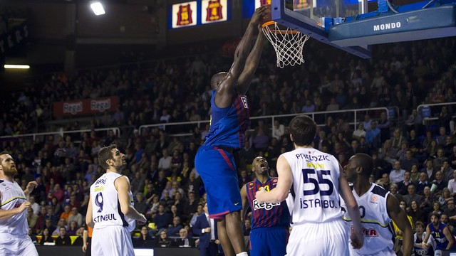 The basketball team continue their Euroleague campaign in Istanbul / PHOTO: FCB Archive