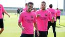 Pedro and Jordi Alba are on Del Bosque's list for next week  / PHOTO: MIGUEL RUIZ - FCB