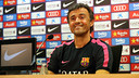 Luis Enrique was speaking to press ahead of the game with Sevilla / PHOTO: MIGUEL RUIZ - FCB