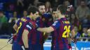 El Barça d'hoquei es manté invicte a l'OK Lliga / FOTO: VÍCTOR SALGADO - FCB