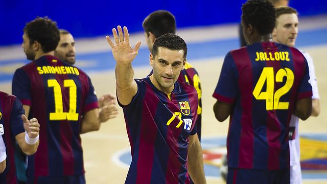 Winning in Germany was a massive result for FC Barcelona's handball team