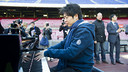 Lang Lang played a series of famous pieces, and finished with the Barça anthem / PHOTO: VÍCTOR SALGADO - FCB