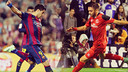 Suárez and Aspas will meet again on Saturday at Camp Nou / FCB PHOTOMONTAGE