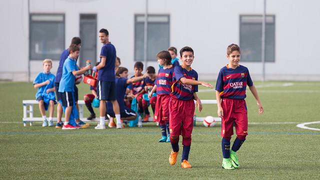 مدرسة نادي برشلونة FCBESCOLA 2015-09-26_ALEVIA_A_-_GRAMANET_002.v1444317086