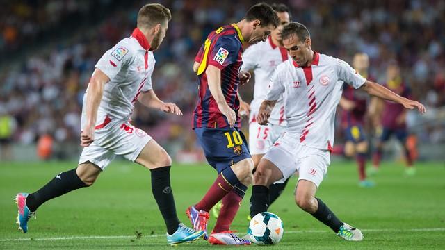 FCB-Sevilla last season / FCB ARCHIVE