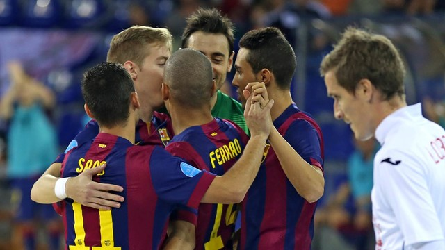 Barça begin UEFA Futsal Elite Round with win / MIGUEL RUIZ - FCB