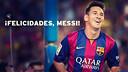 Felicidades Messi