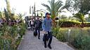 Neymar y Alves llegando al hotel de concentración de Nicosia / FOTO: MIGUEL RUIZ - FCB