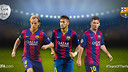 Rakitic, Neymar, Messi / UEFA.COM