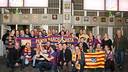 Crest unveiling of the PB Ferreries. PHOTO: GERMAN PARGA-FCB