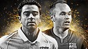 Xavi et Iniesta, nominés pour le World XI FIFA FIFPro 2014 / PHOTO: @FIFPro