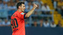 Leo Messi on the shortlist for the Ballon d'Or and the subject of a new feature film/ Archive FCB