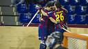 Five goals did the trick against Reus / PHOTO: VICTOR SALGADO - FCB