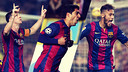 Messi, Luis Suárez and Neymar all made headlines in 2014. But what was our most read story of the year? / FCB