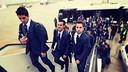 The trip to Valencia. PHOTO: MIGUEL RUIZ-FCB.