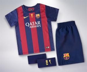 1ère tenue du FC Barcelona pour enfant