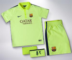 FC Barcelona Kids' Third Kit
