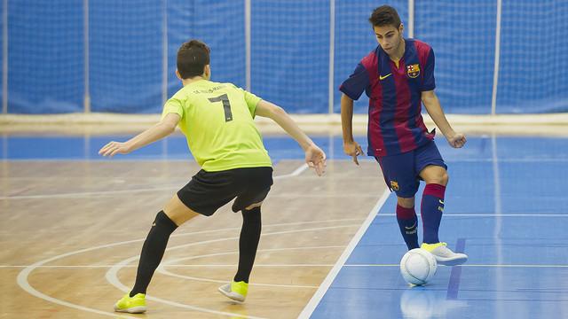 El equipo Juvenil del Barça sigue líder de la categoría