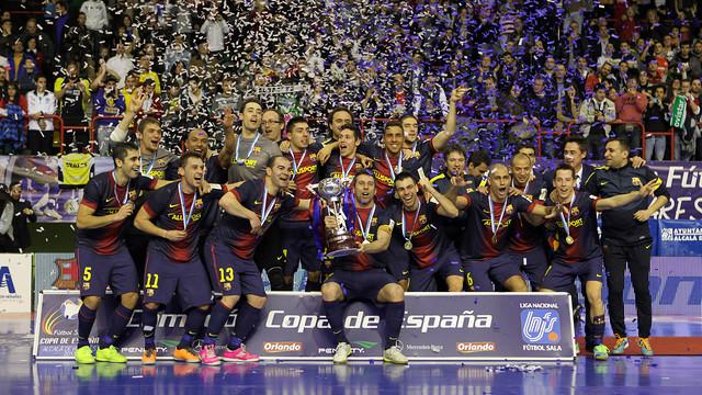 El Barça quiere volver a revalidar el título