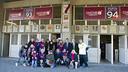 Crest unveiling of the PB Jordi Alba Zona Franca