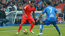 The Getafe game was a special one for Dani Alves  / PHOTO: MIGUEL RUIZ-FCB