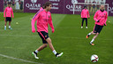 Samper is in the squad for the Cup game / PHOTO: MIGUEL RUIZ - FCB