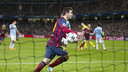 Leo Messi scored twice against City last season / PHOTO: MIGUEL RUIZ - FCB