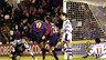 Xavi anotó un gol importante en Valladolid para seguir luchando la Liga la temporada 1998/99
