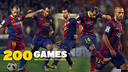 Javier Mascherano played his 200th game with Barça on Tuesday against Huesca / FCB