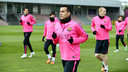 Pedro training with the squad in an archive photo / PHOTO: MIGUEL RUIZ - FCB
