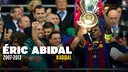 Éric Abidal is hanging up his boots