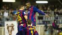 El Barça B quiere despedir el año con una victoria en uno de los campos más complicados de la categoría / FOTO: VÍCTOR SALGADO - FCB