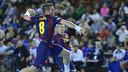 Víctor Tomás ha sido el autor de seis goles en la final de la Copa Asobal / FOTO: Javier Quintana - Asobal