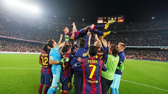It has been another year to remember at FC Barcelona / PHOTO: MIGUEL RUIZ - FCB