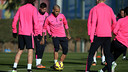 Dani Alves is among the eighteen players named for Sunday's fixture / PHOTO: MIGUEL RUIZ - FCB