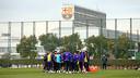 Training this Wednesday at the Ciutat Esportiva / PHOTO: MIGUEL RUIZ - FCB