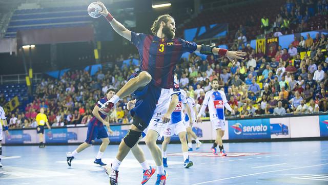 Noddesbo jugarà amb Dinamarca el Mundial / FOTO: Víctor Salgado-ARXIU FCB