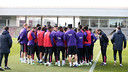 The training session on Tuesday / PHOTO: MIGUEL RUIZ-FCB.