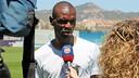 Abidal, avec Barça TV. PHOTO: MIGUEL RUIZ-FCB.