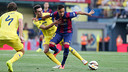 Neymar during the game against Villarreal earlier this season . PHOTO: MIGUEL RUIZ - FCB