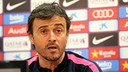 Luis Enrique has confirmed that Neymar is fit to play at Riazor / PHOTO: MIGUEL RUIZ - FCB