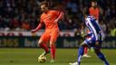 Ivan Rakitic laid up one of Messi's three goals/ PHOTO: MIGUEL RUIZ - FCB