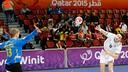 Pérez de Vargas, MVP del partido de España ante Brasil / FOTO: Qatar Handball 2015